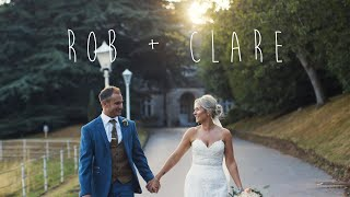 Rob + Clare | Wedding in the Derbyshire Countryside