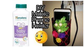DIY Mobile Phone Holder | Best Out Of Waste| Plastic bottle Crafts