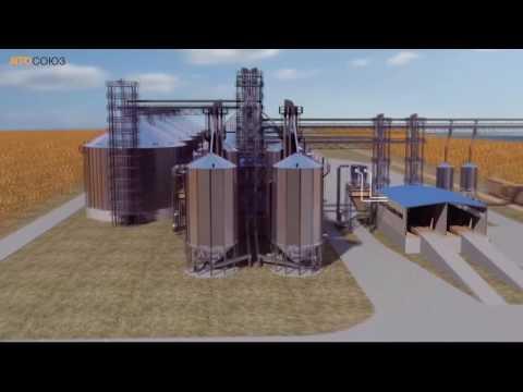 Элеватор. Технология хранения и транспортировки зерна.