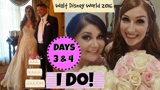 Disney vacation vlogs 2016 - Day 3 & 4 : Disney Wedding at the Grand Floridian resort