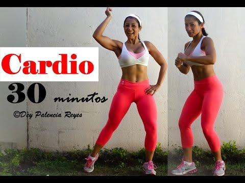 Cardio quema grasa 30 MINUTOS - RUTINA 442 - Dey Palencia - CARDIO PARA ELIMINAR GRASA ABDOMINAL