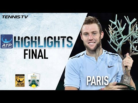Highlights: Sock Wins 1st Masters 1000 Title In Paris 2017