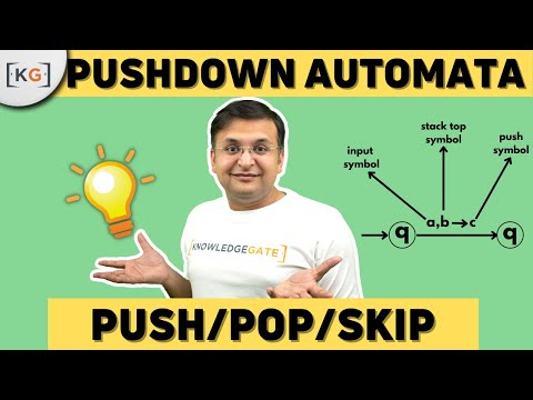Pushdown Automata | TOC | THEORY OF COMPUTATION | AUTOMATA | COMPUTER SCIENCE | part-61