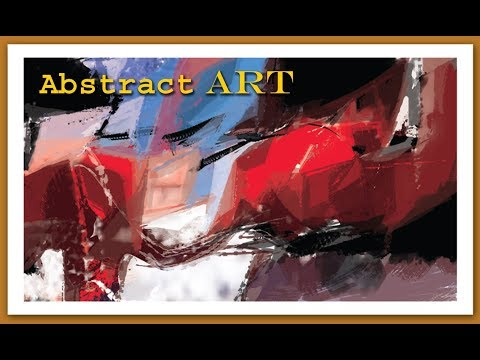 Abstract Art | Digital Painting | how to make digital art | creative art | landscape | Modern Art