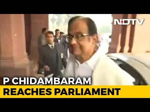 P Chidambaram In Parliament Day After Release From Jail, To Address Press Later
