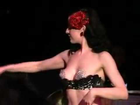 Dita Von Teese.  sexy dance strip