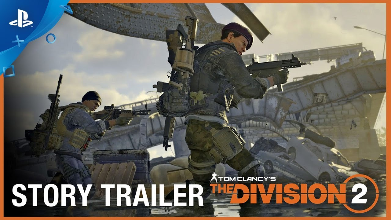 Tom Clancy's The Division 2 - Trejler za priču | PS4
