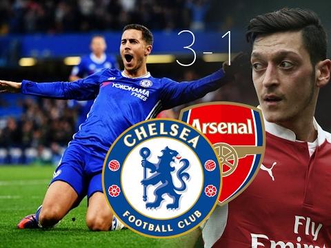 Chelsea VS Arsenal 04/02/2017 Derby London