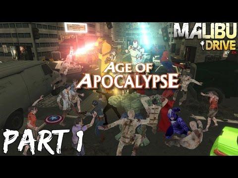 MALIBU DRIVE: AVENGERS (Part 1) | Call Of Duty: WaW Custom Zombies Map | 1080p 60FPS