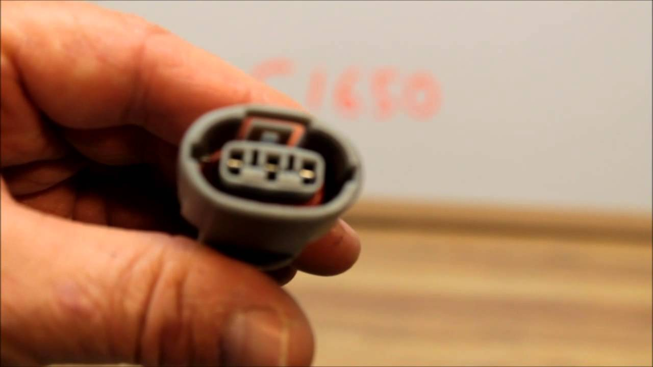 C1650 Voltage Regulator Repair Plug for Denso Hitach Mitsubushi Alternators - YouTube & C1650 Voltage Regulator Repair Plug for Denso Hitach Mitsubushi ...
