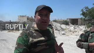 Syria: Town of Khan Sheikhoun recaptured by SAA