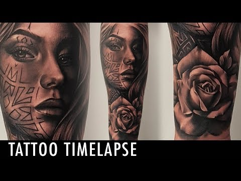 Tattoo Timelapse - Poly Tattoo