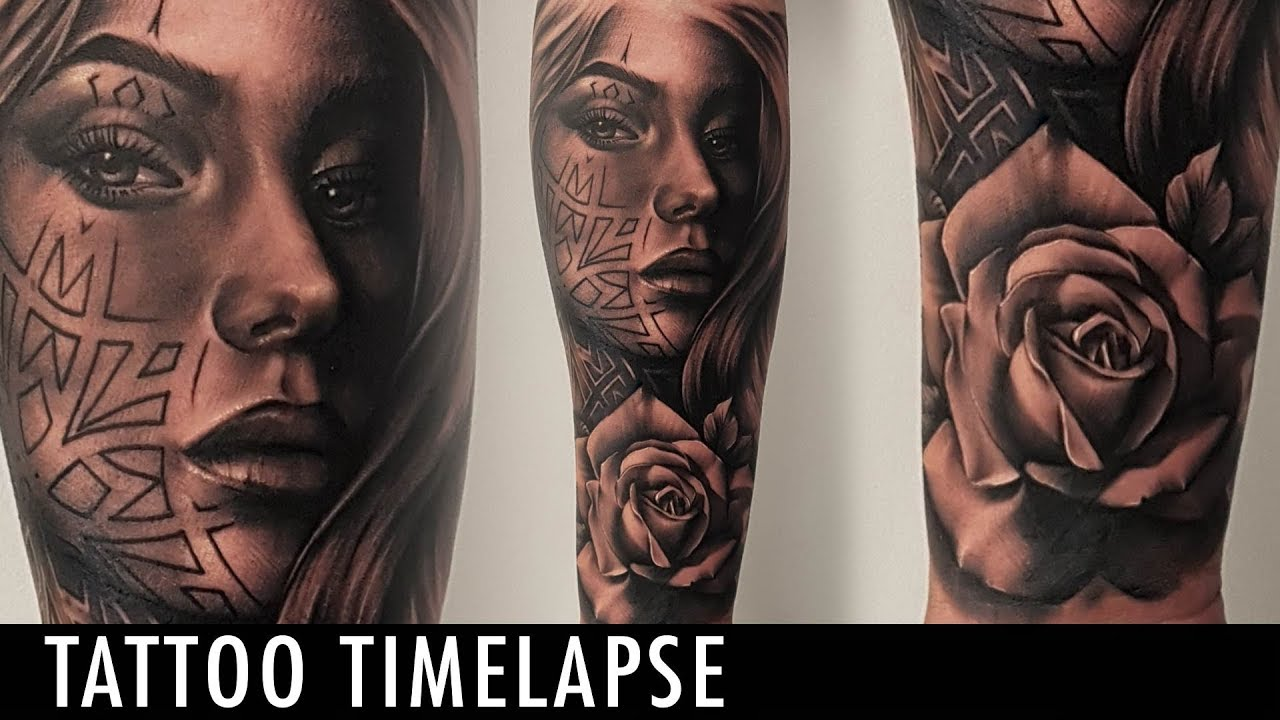 7d880051f Tattoo Timelapse - Poly Tattoo - YouTube