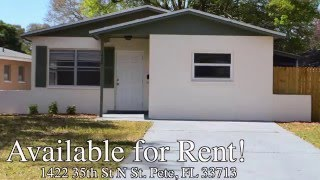 available rental 1422 35th st n st petersburg fl 33713