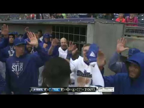 Tulsa's Diaz hits Drillers' third homer in the eighth