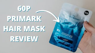 testing a 60p primark hair mask application and review