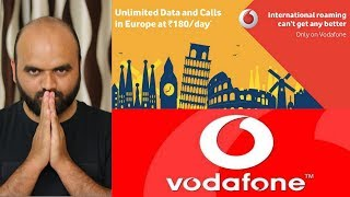 International Roaming Package information ! Vodafone , Airtel and jio