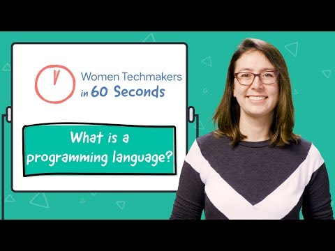 What Is A Programming Language In 60 Seconds!
