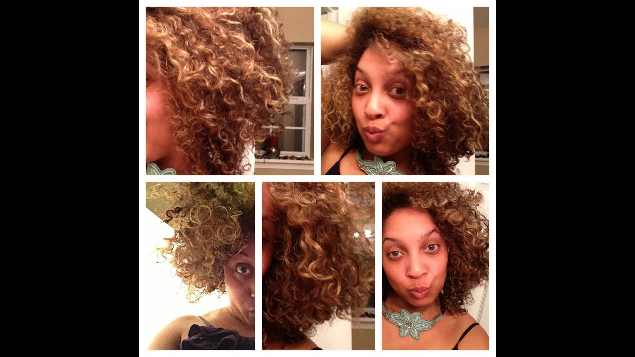 Two Strand Twist Out Wflexi Rods Youtube