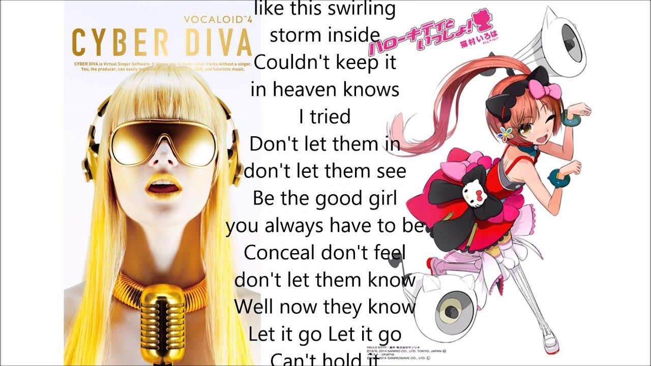 Cyber diva nekomura iroha let it go eng2jap project youtube - Cyber diva vocaloid ...