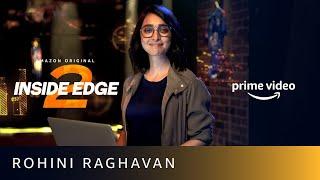 Stats and Numbers - Rohini Raghavan   Inside Edge Season 2   Amazon Prime Video