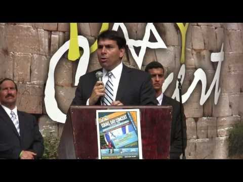 Danny Danon, Israel's #3, 'Settlements are our protection against jihad'- at NYC Rally June'13