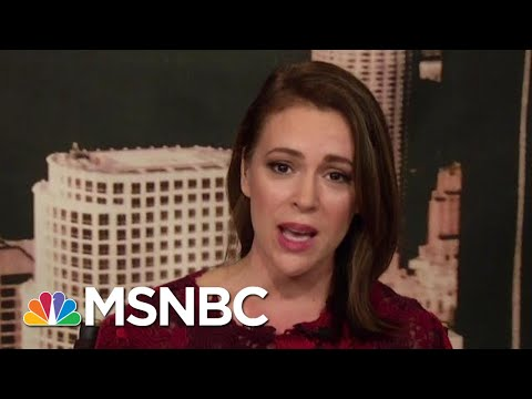 Alyssa Milano: Sexual Abuse Has Been Institutionalized In The U.S.  Velshi & Ruhle  MSNBC