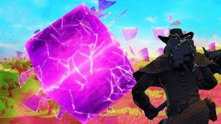 Assisti o Cubo Gigante Explodir no Evento Ao Vivo no Lago do Fortnite!