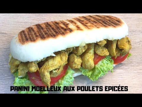 recette-panini-moelleux-aux-poulets-ÉpicÉes