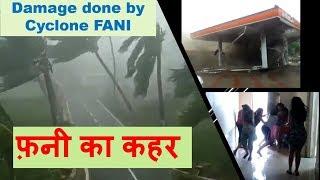 Fani   Damage done by cyclone Fani in Odisha