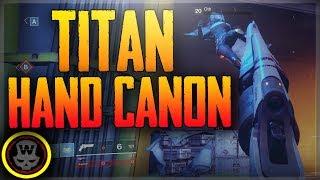 Destiny 2 PC Beta Titan Hand Canon/Shotgun PVP