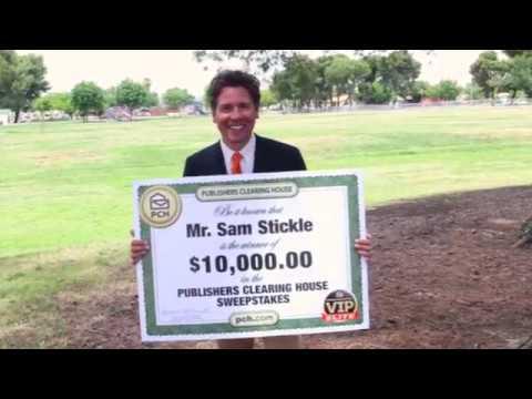 $10,000 PCH Winner – Sam Stickle