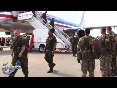 Bermuda Regiment Returns May 13 2011