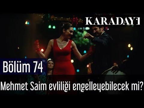 Karadayı 74.Bölüm - Son Sahne - Mehmet Saim, Mahir ve Feride evliliğine son kez engel olabilecek mi?