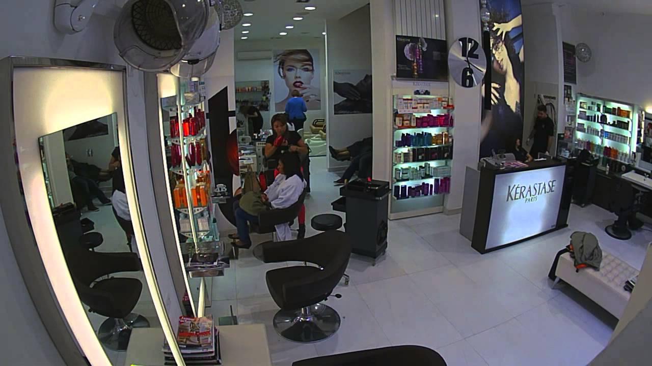 Salon de coiffure et desthtique  Genve  Coiffeur des Nations  YouTube