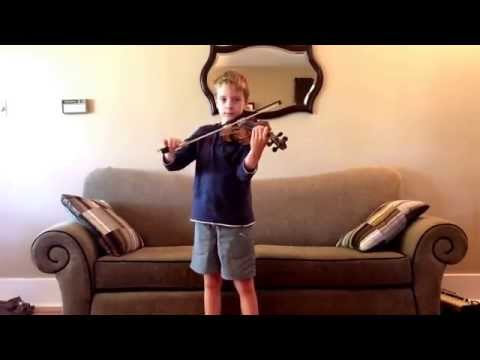 Australian national anthem Advance Australia Fairviolin