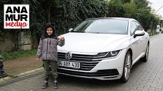 Volkswagen Arteon 2017 Baba Oğul Test