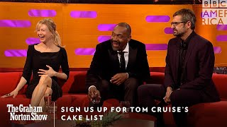 Sign Us Up For Tom Cruise's Cake List | The Graham Norton Show | Friday at 11pm | BBC America
