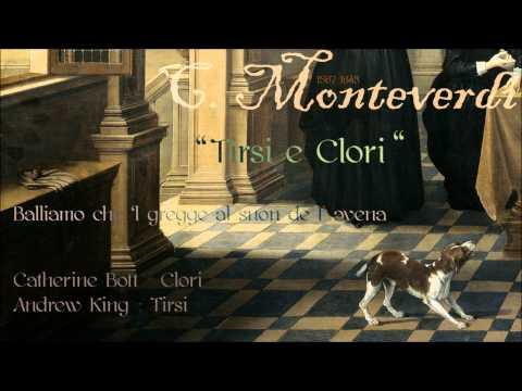 "C. Monteverdi - ""Tirsi e Clori"" -  Catherine Bott & Andrew King"