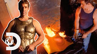 How Ancient Bronze Body Armour Was Made By Hand | History In The Making