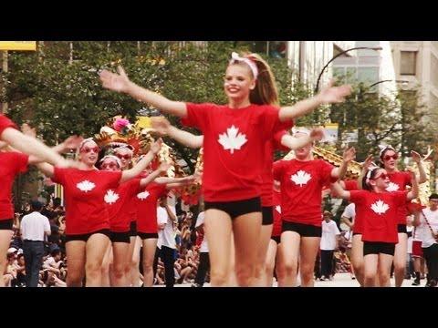 2013 Canada Day Parade Vancouver (Part 1)
