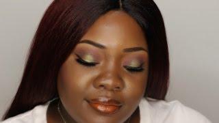 Warm Tone Makeup Look | Dark Skin & Chit Chat