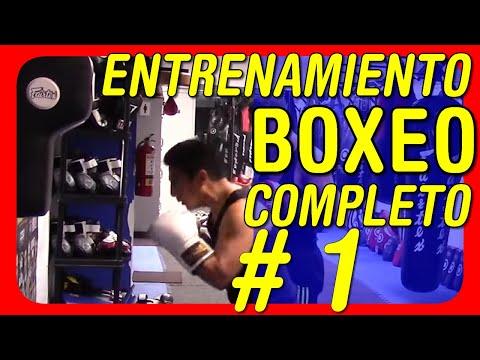 Entrenamiento de boxeo completo - Sesión 1
