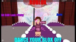 Roblox- Dance Your Blox Off- Sit Still Look Pretty- Acro