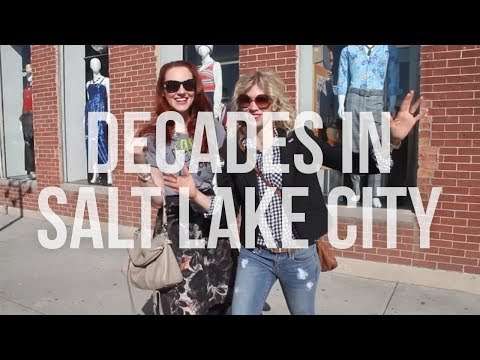 Thrifting Haul in Salt Lake City (Vintage Fashion)