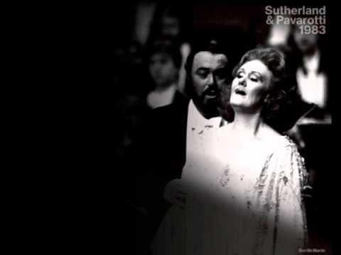 Dame Joan Sutherland & Luciano Pavarotti. Un di felice. La Traviata.