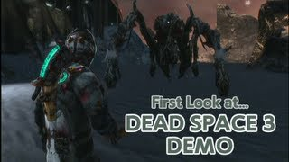 Dead Space 3 Demo | Gameplay/ Walkthrough | 1080p