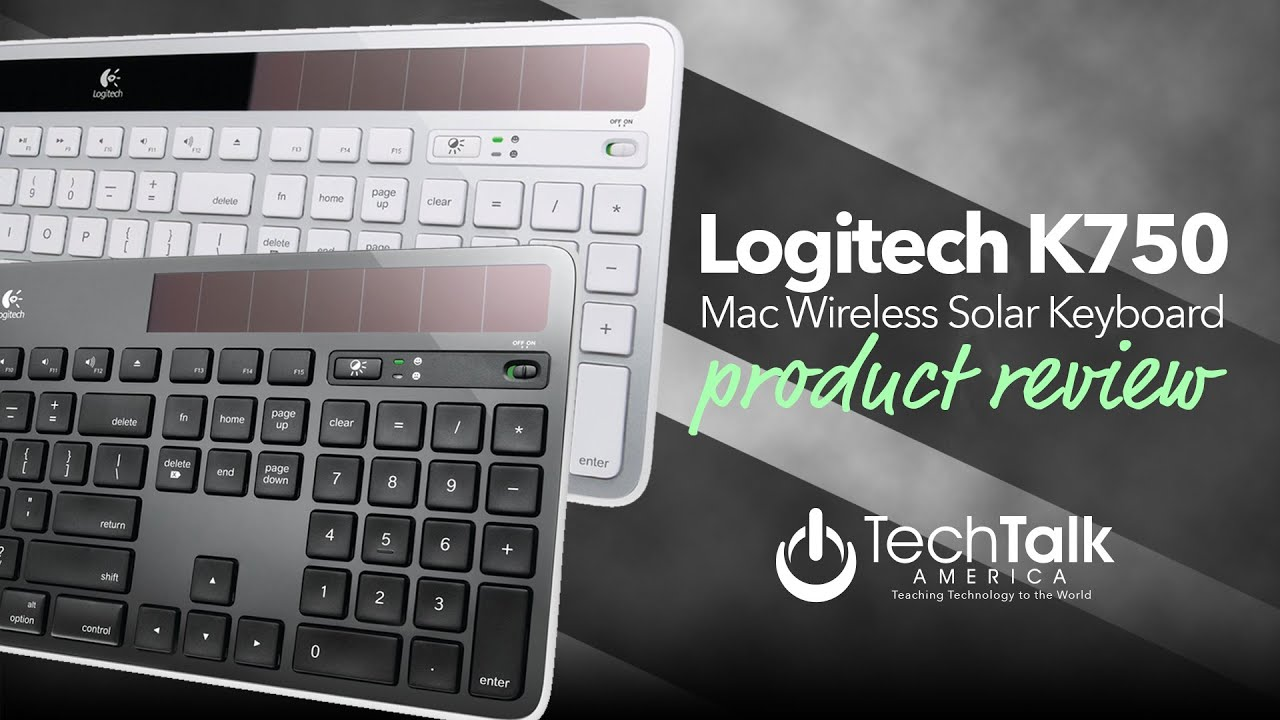 logitech k750 wireless solar keyboard for mac review youtube. Black Bedroom Furniture Sets. Home Design Ideas