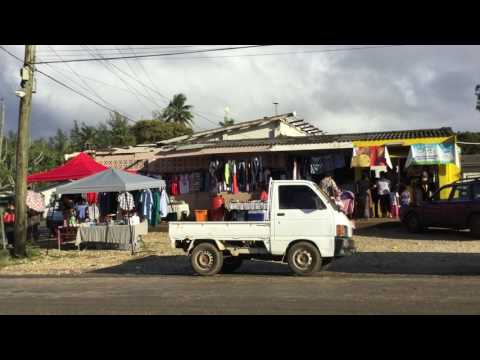Market Tour | Vava'u Island Tonga South Pacific
