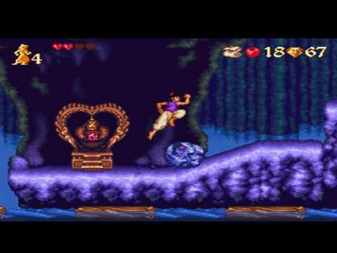 Aladdin level 2-2 (Snes)